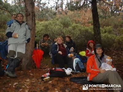 Parque Natural de Tejera Negra; marcas ropa montaña; caminatas